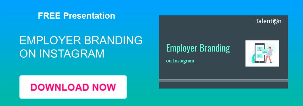Employer Branding Instagram CTA