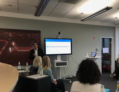 Employer Branding in the Digital Age: Talention Attends HR-Meetup in Cologne