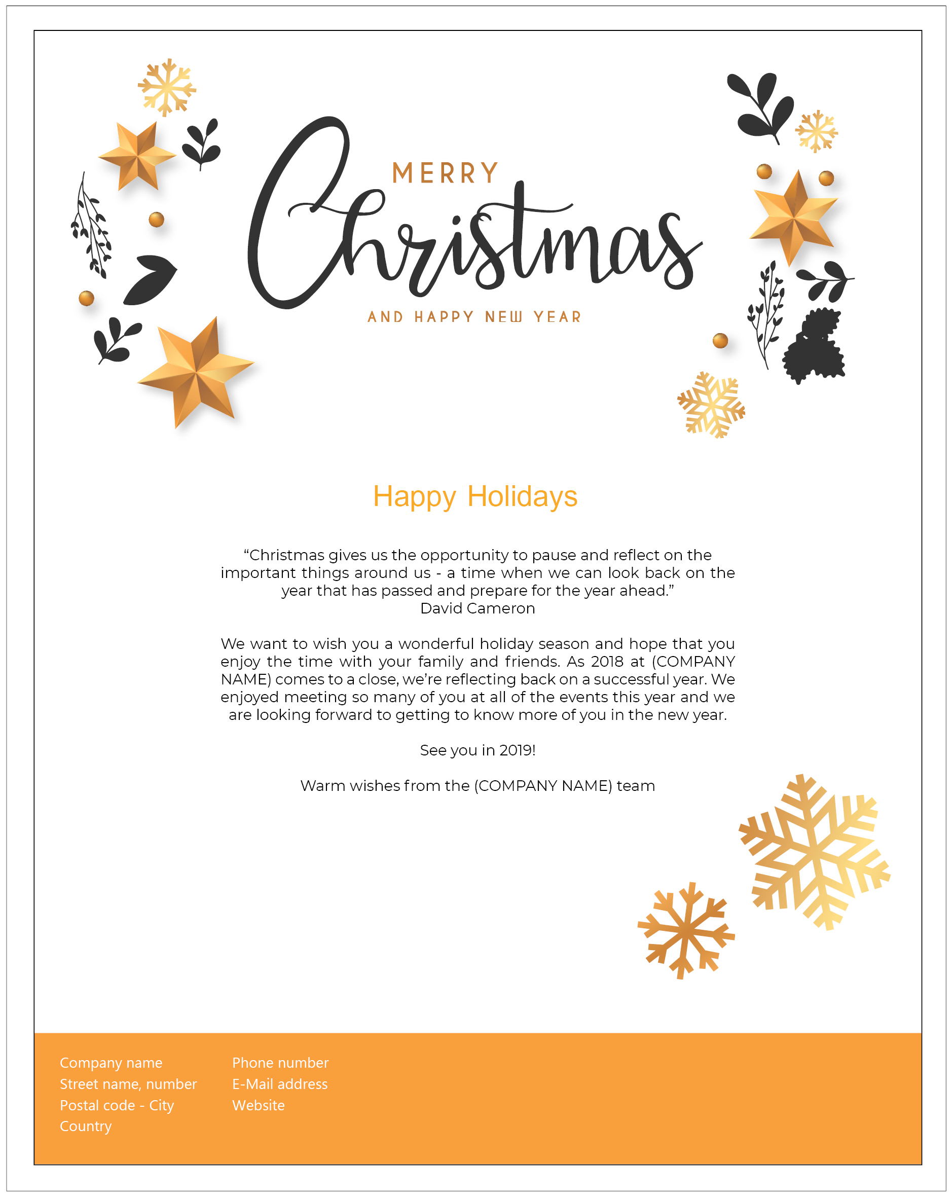 Recruiting at Christmas: 4 Christmas Nurturing Newsletter Examples