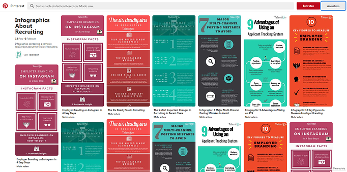 Guideline: How Pinterest Supports Your Content Marketing in Recruiting