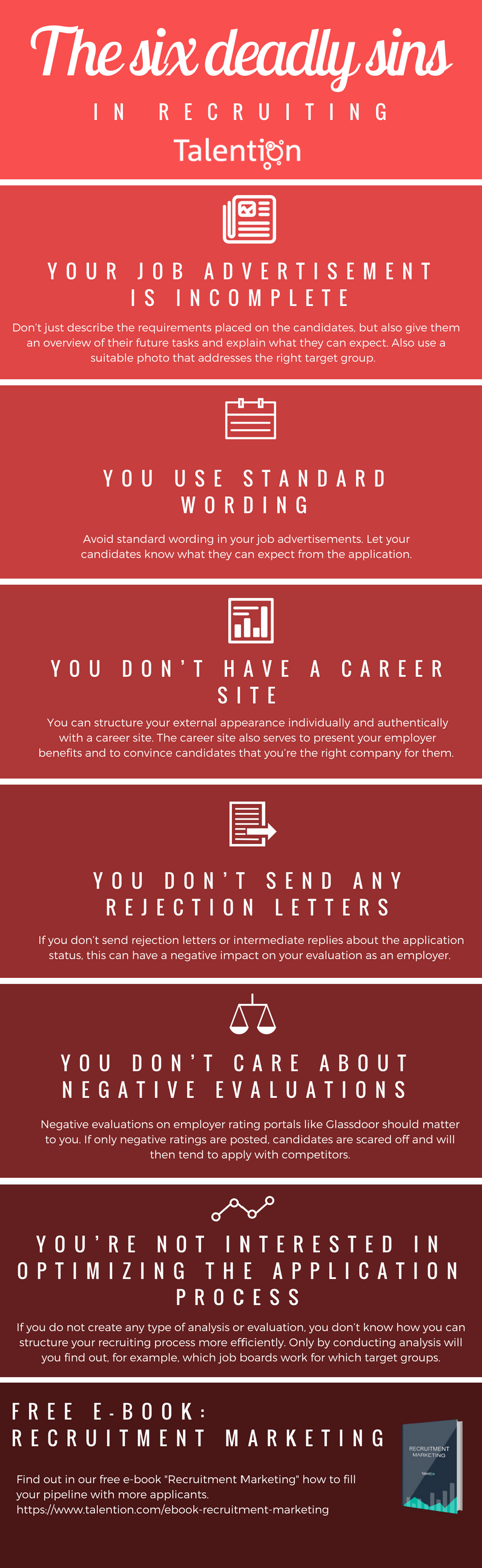 The six deadly sins in recruiting