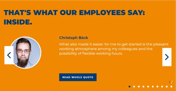 employee testimonials fincon
