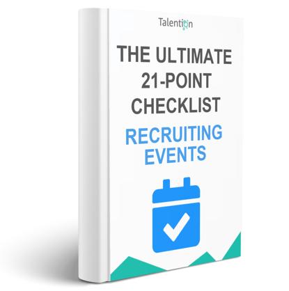 checklist recruiting events