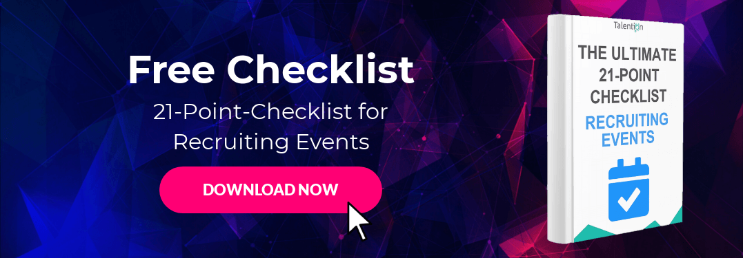 The Ultimate 21-Point Checklist for Recruiting Events
