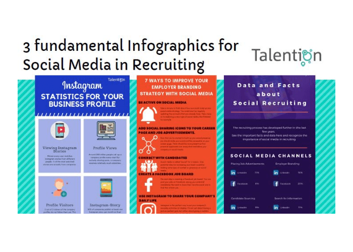 3 fundamental Infographics for Social Media in Recruiting LP