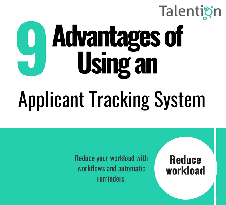 9 Advantages of Using an ATS (Infographic)