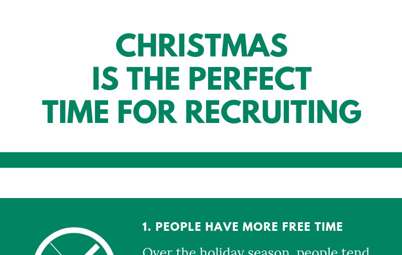 Infographic: Christmas is the perfect time for Recruiting