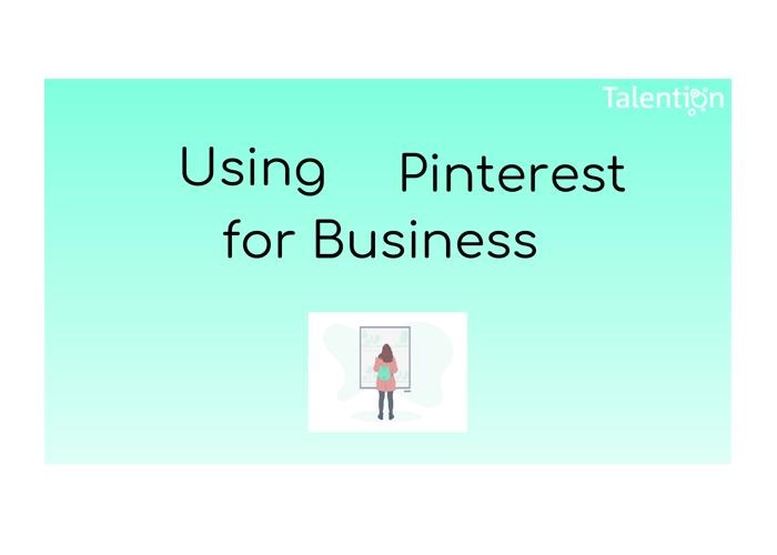 EN Using Printerest for business
