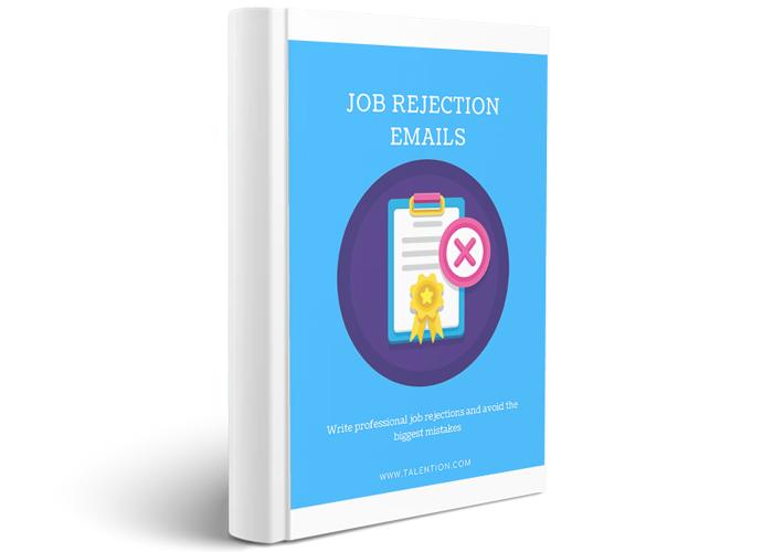Job Rejection Emails