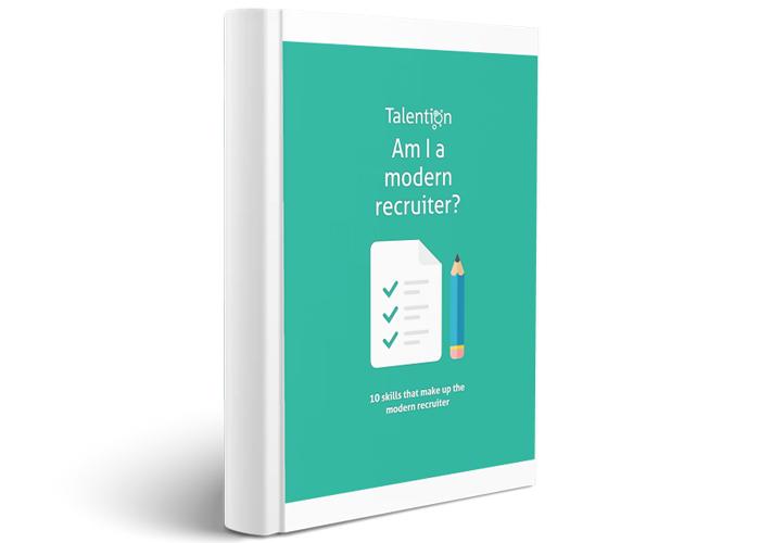 Talention Checklist - Am I a modern recruiter