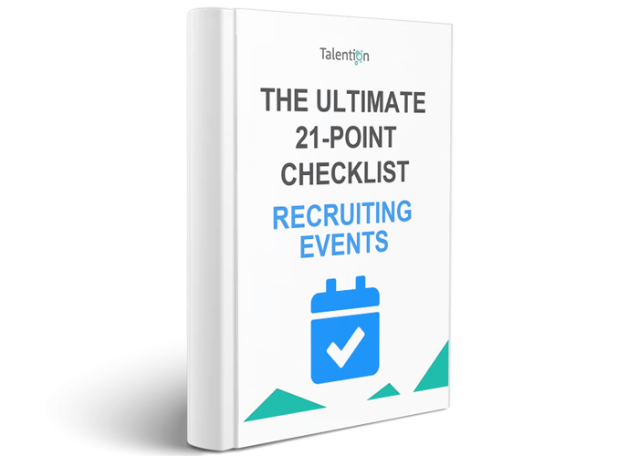 The Ultimate 21 Point Checklist for Recruiting Events English