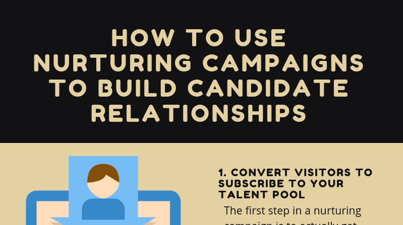 Infographic: How to Use Nurturing Campaigns to Build Candidate Relationships