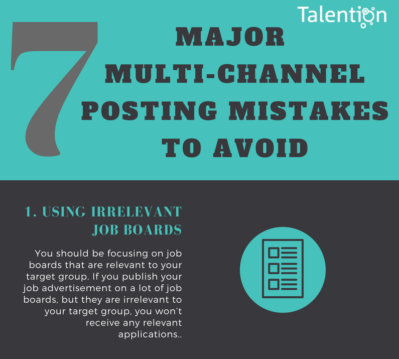 7 Major Multi-Channel Posting Mistakes to Avoid (Infographic)