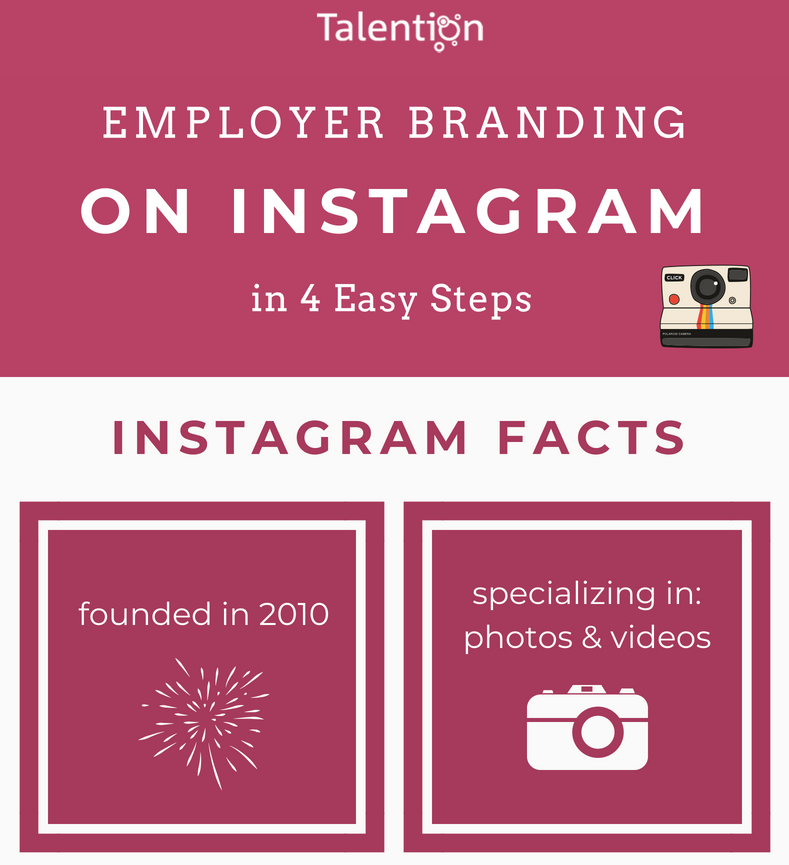 Employer Branding on Instagram in 4 Easy Steps (Infographic)