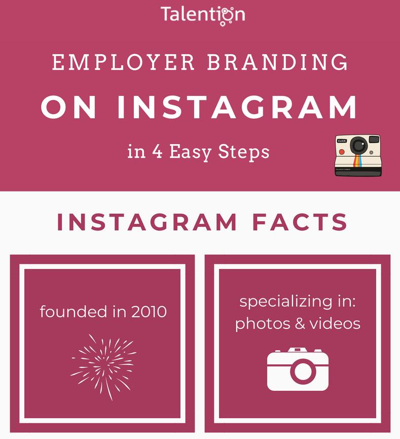 Infographic: Employer Branding on Instagram in 4 Easy Steps