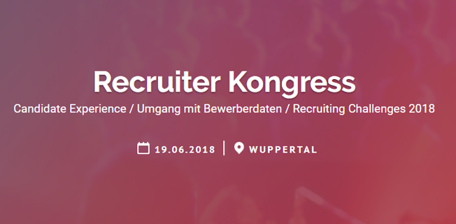 Talention Recruiter Congress in Wuppertal