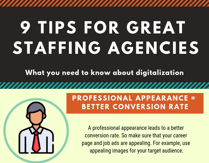 Infographic: 9 Tips for Great Staffing Agencies