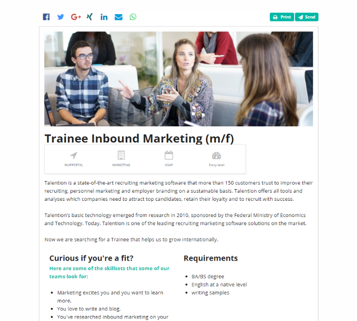 Recruiting in Germany vs. USA: What are the Differences? trainee talention